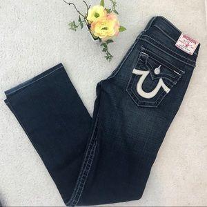 True Religion Dark Wash Jeans! Size 29!